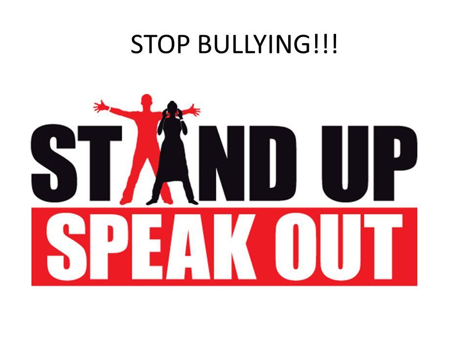 STOP BULLYING!!!