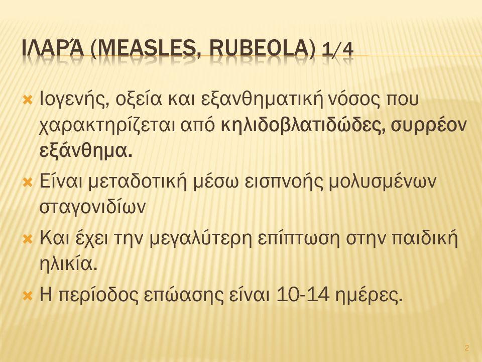 13 Rash of rubella on skin of child s back , από Patho διαθέσιμο ως κοινό κτήμαRash of rubella on skin of child s backPatho Rubella , από Bemoeial διαθέσιμο ως κοινό κτήμαRubellaBemoeial