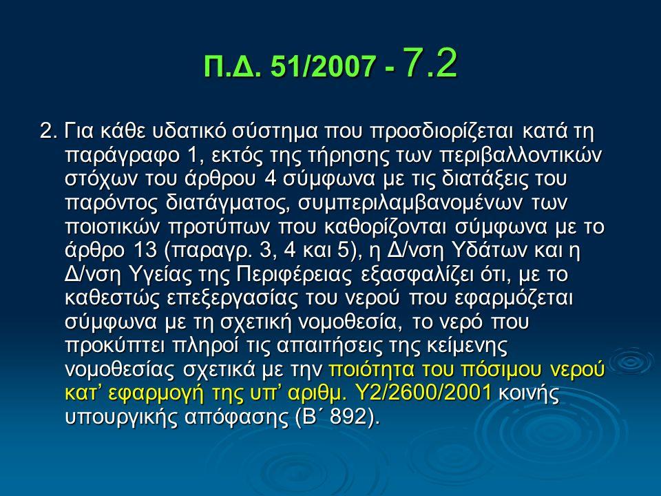 Οδηγία 2000/60/ΕΚ - 7.3 3.