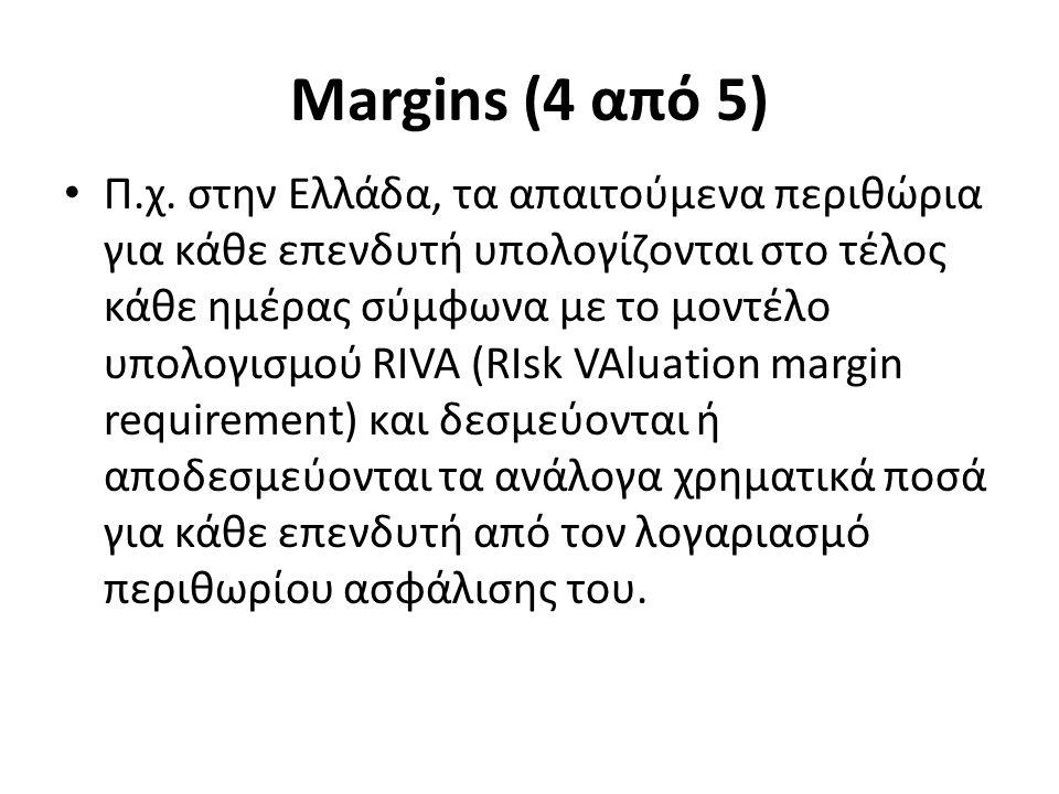 Margins (4 από 5) Π.χ.