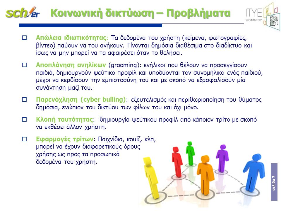 σελίδα 8 Κοινωνικά Δίκτυα στην Εκπαίδευση: Η.Π.Α.