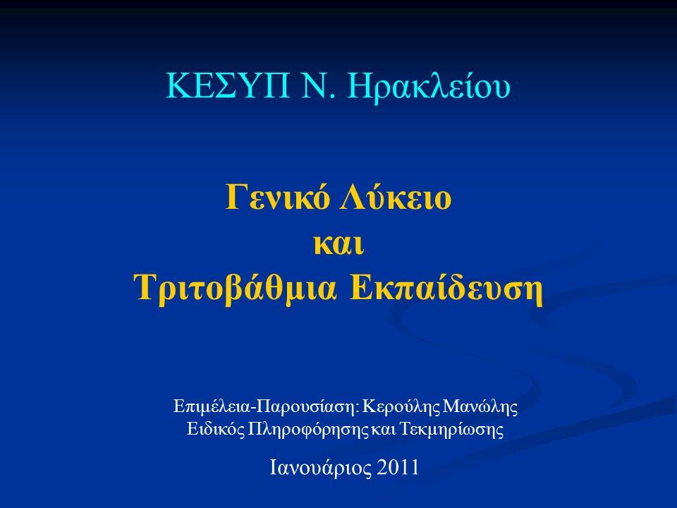 Αίτηση - Δήλωση 10-25 Φεβρουαρίου 2011 Η ΑΙΤΗΣΗ-ΔΗΛΩΣΗ που υποβάλουν – ηλεκτρονικά - οι υποψήφιοι είναι δεσμευτική και δεν αλλάζει σε καμιά περίπτωση.