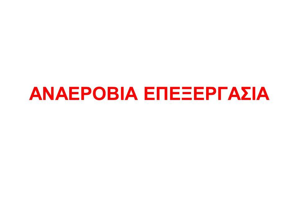 ΑΝΑΕΡΟΒΙΑ ΕΠΕΞΕΡΓΑΣΙΑ