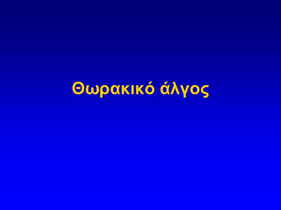 Θωρακικό άλγος