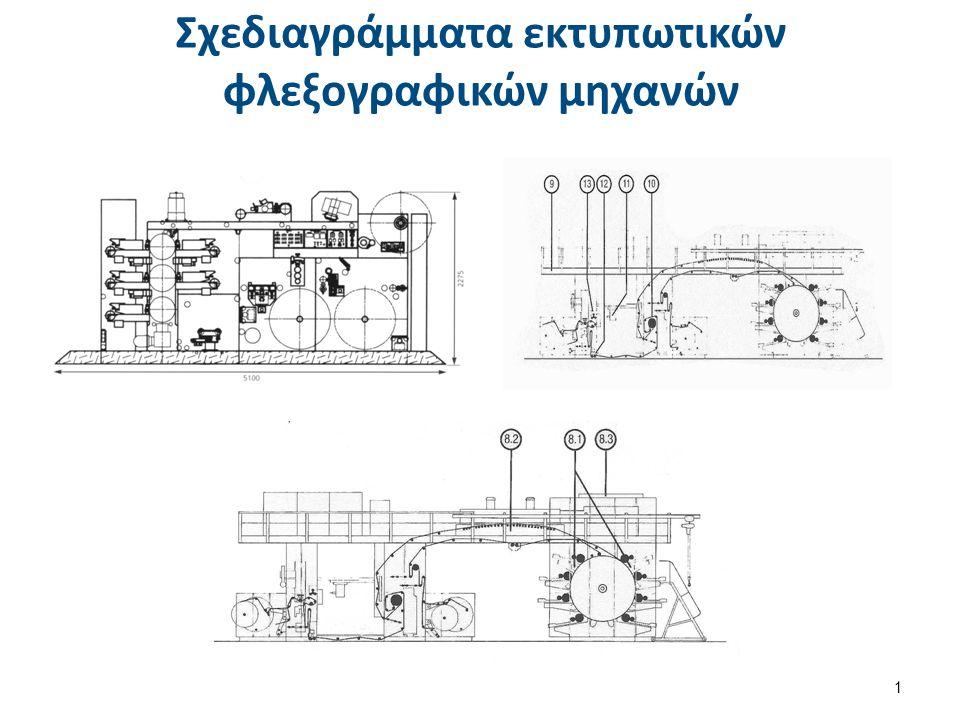 Σχεδιαγράμματα εκτυπωτικών φλεξογραφικών μηχανών 1