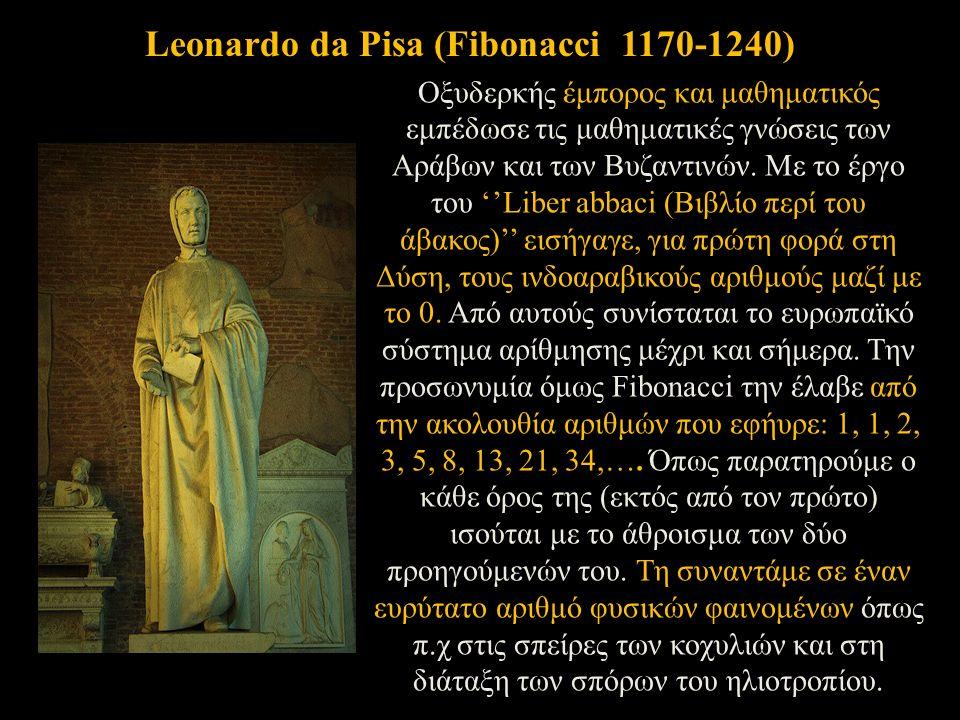 Οξυδερκής έμπορος και μαθηματικός εμπέδωσε τις μαθηματικές γνώσεις των Αράβων και των Βυζαντινών.
