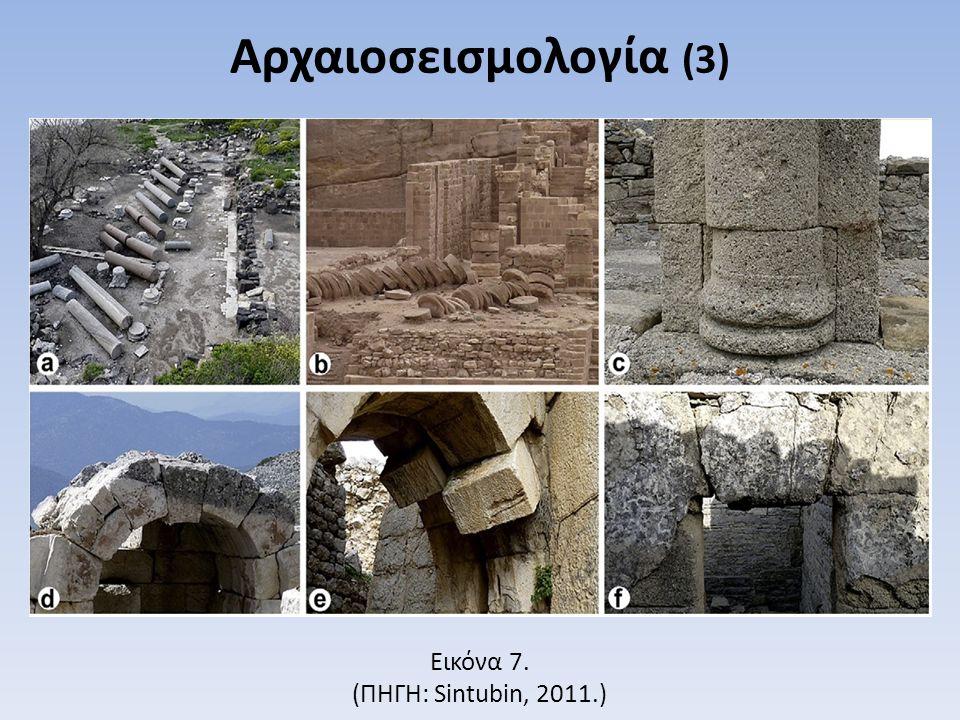 Sintubin 2011 Εικόνα 7. (ΠΗΓΗ: Sintubin, 2011.) Αρχαιοσεισμολογία (3)