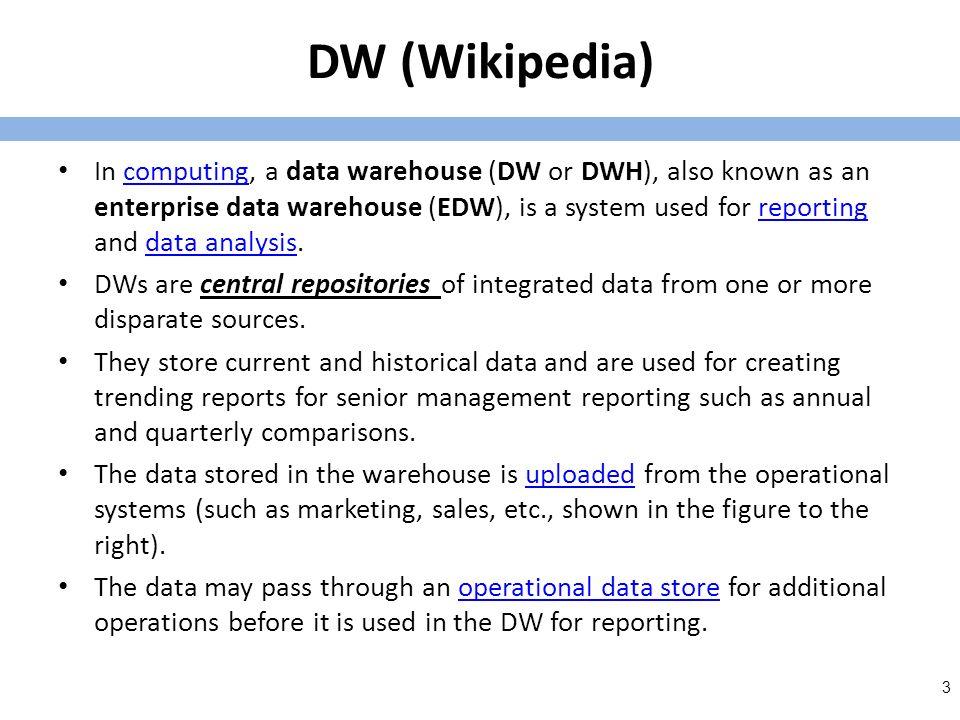 DM – A quick guide http://www.tutorialspoint.com/data_mining/ dm_quick_guide.htm http://www.tutorialspoint.com/data_mining/ dm_quick_guide.htm