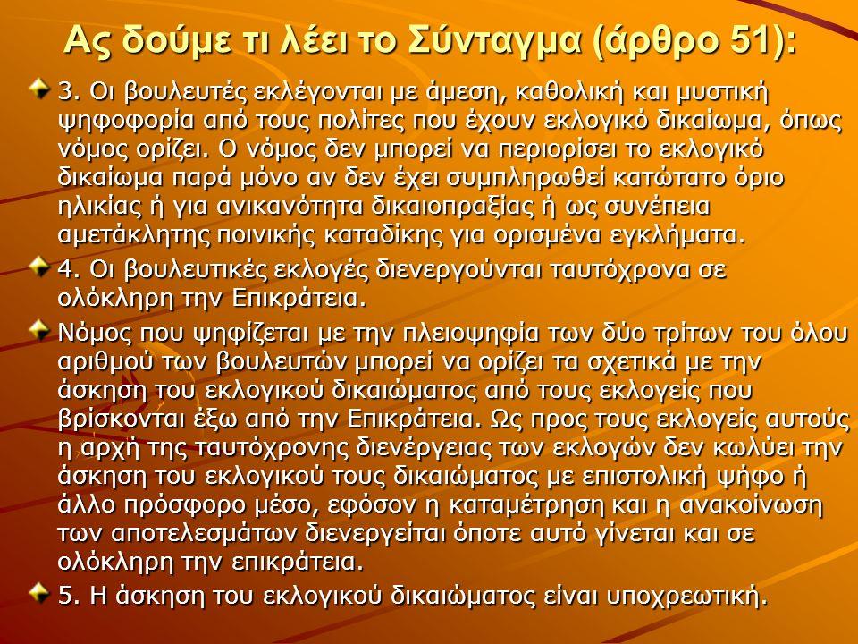 Πολυφωνία στην πολιτική Πολυκομματισμός = λειτουργία πολλών κομμάτων Απόλυτο αντίθετο: μονοκομματισμός Διαβαθμισμένο αντίθετο: δικομματισμός Δώστε παραδείγματα Ποιος είναι ο σκοπός της λειτουργίας πολλών κομμάτων στην ελληνική πολιτική σκηνή; Τι επιτυγχάνεται μ' αυτόν τον τρόπο; Ποια είναι η συνώνυμη λέξης της πολυφωνίας;