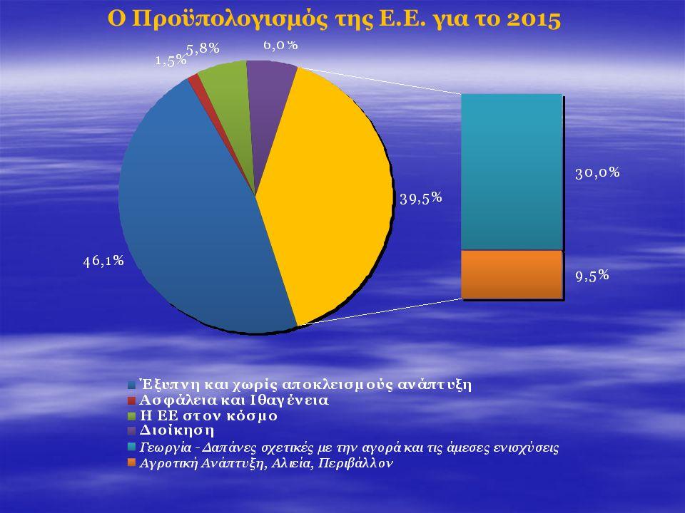 Ο Προϋπολογισμός της Ε.Ε. για το 2015