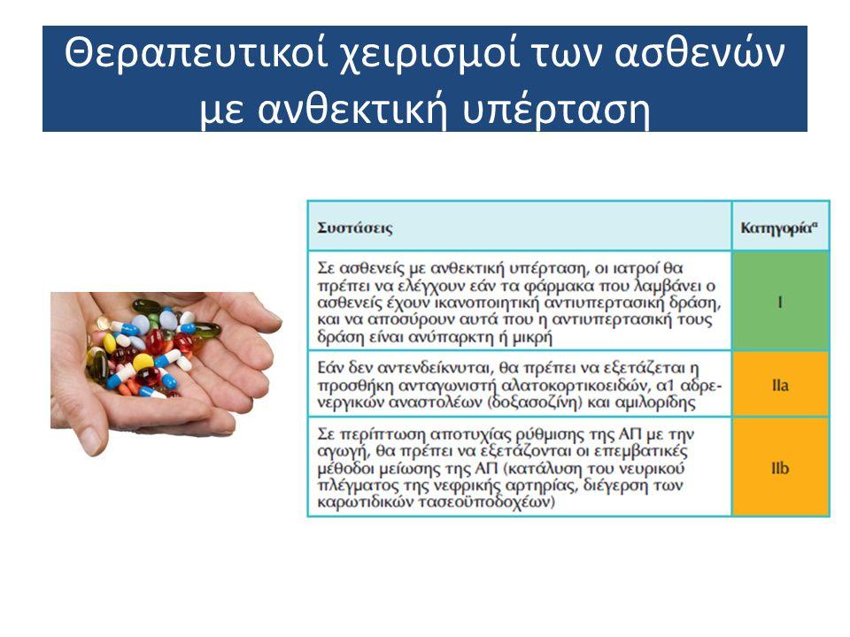 Θεραπευτικοί χειρισμοί των ασθενών με νεφροπάθεια