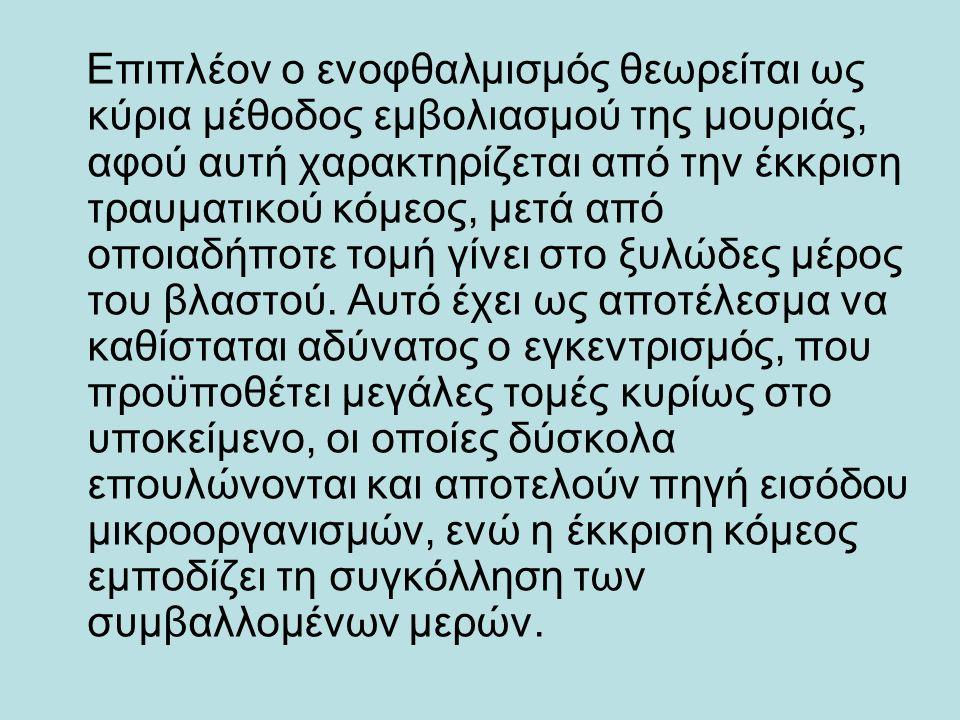 ΕΠΙΛΟΓΗ ΕΜΒΟΛΙΟΦΟΡΟΥ ΒΛΑΣΤΟΥ