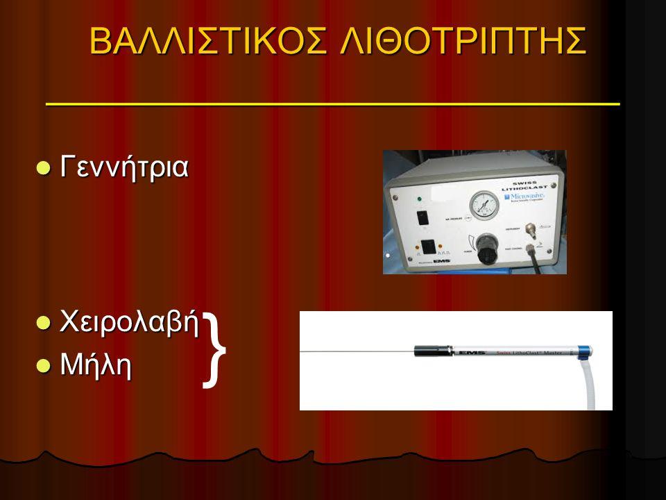ΥΛΙΚΑ ΑΠΟΤΡΟΠΗΣ ΜΕΤΑΝΑΣΤΕΥΣΗΣ ΛΙΘΩΝ ΣΕ URS Stone Cone® Nitinol NTrap® NTrap® PercSys Accordion® BackStop® Gel Elashry O.