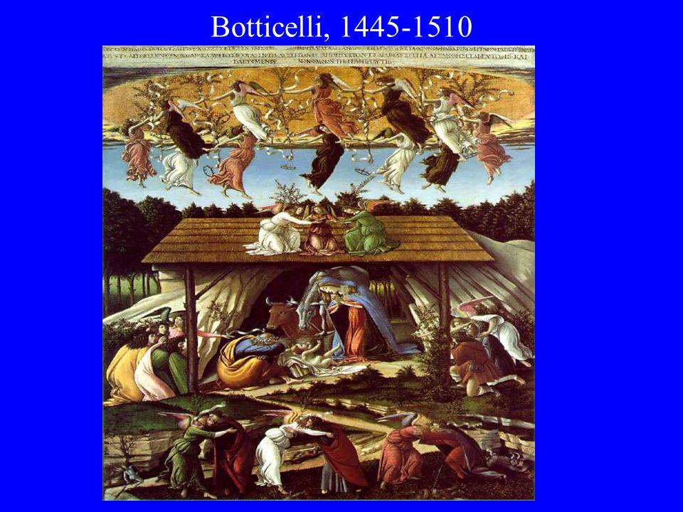 Botticelli, 1445-1510