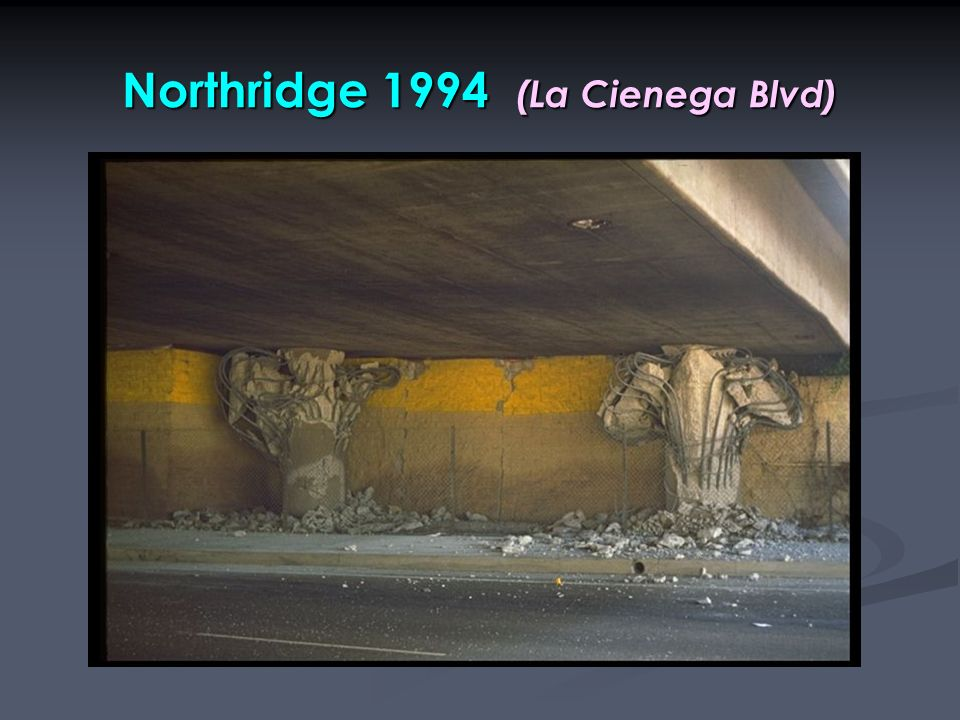 Northridge 1994 (La Cienega Blvd)