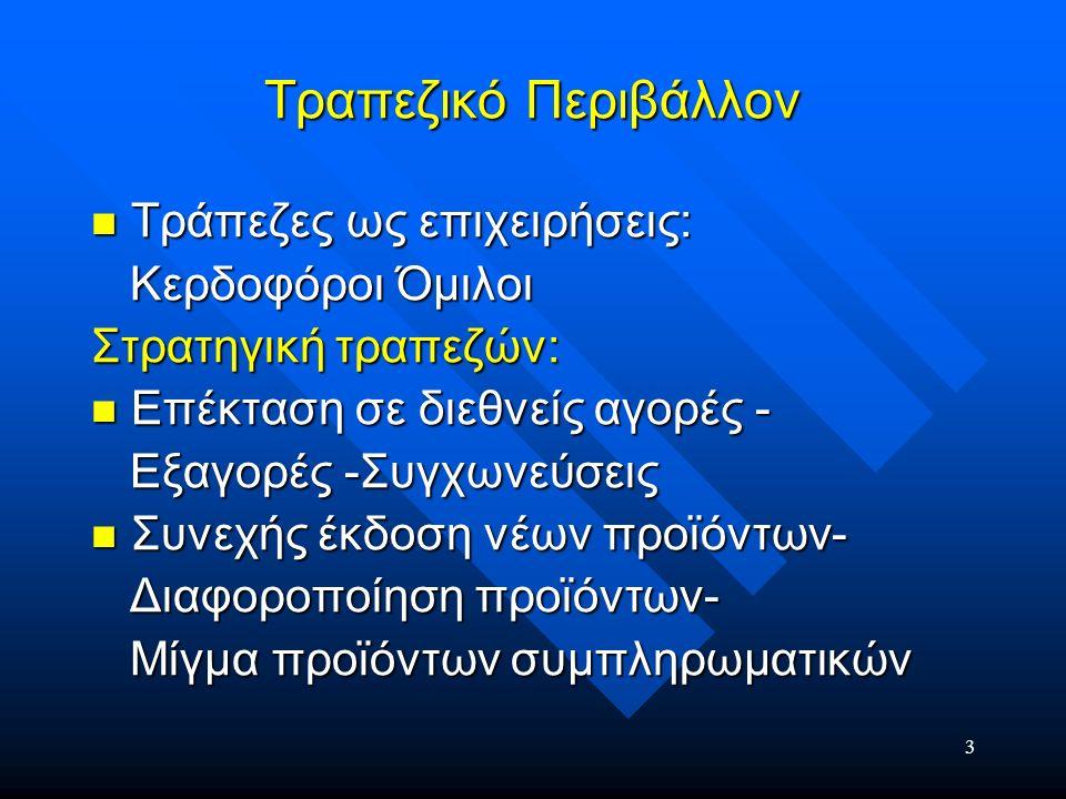 4 Προφίλ Τραπεζικού Στελέχους (1) Προφίλ ΕπιχείρησηςΤράπεζα, μέλος Ομίλου που αποτελεί ένα από τους δυναμικότερους χρηματοοικονομικούς Ομίλους στην Ελλάδα, με εκατοντάδες καταστήματα και θυγατρικές εταιρείες στην Ελλάδα και στο εξωτερικό.