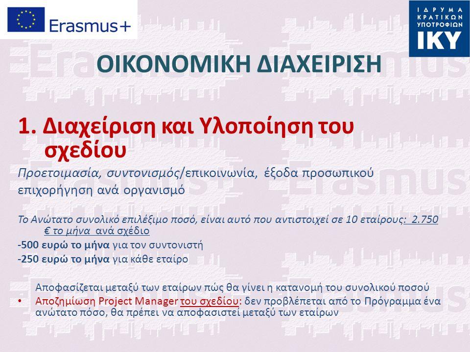ΟΙΚΟΝΟΜΙΚΗ ΔΙΑΧΕΙΡΙΣΗ 1.