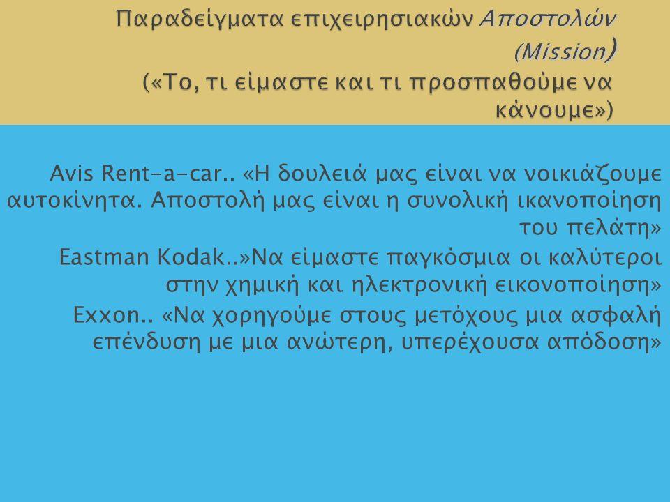 13 Avis Rent-a-car.. «Η δουλειά μας είναι να νοικιάζουμε αυτοκίνητα.