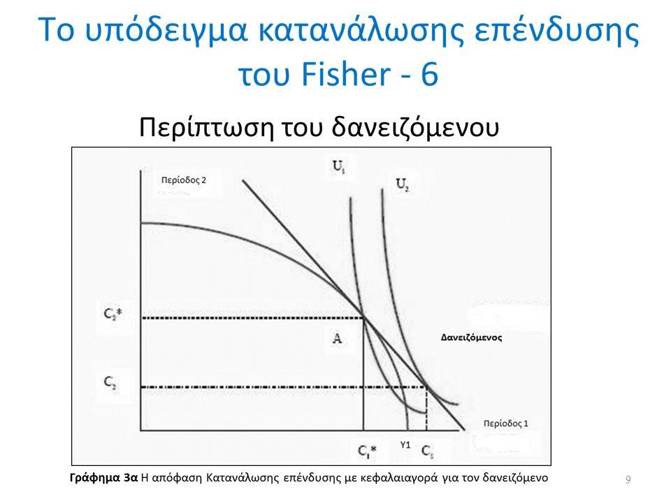 Το υπόδειγμα κατανάλωσης επένδυσης του Fisher λαμβάνοντας υπόψη τις ατέλειες των κεφαλαιαγορών - 4 Η μείωση του κόστους είναι μεγαλύτερη από το C αυτό οφείλεται σε μια σειρά από παράγοντες για τον χρηματοπιστωτικό οργανισμό όπως, οι οικονομίες εύρους & κόστους που μπορεί να πετύχει (παράλληλη προσφορά υπηρεσιών καταθέσεων και δανείων, και ταυτόχρονη μείωση κόστους παρακολούθησης δανείων δεδομένου μιας τυπικής δανειακής σύμβασης) και η χρήση της τεχνολογίας.