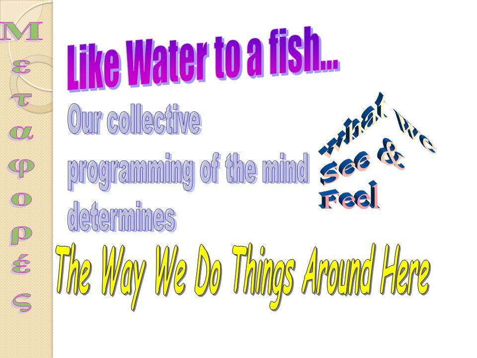 Ορισμός της κουλτούρας Ένα σύνολο Κανόνων ή Σταθερών κοινό για τα μέλη μιας κοινωνίας, τα οποία, όταν αποτελούν τη βάση της δράσης των μελών της κοινω