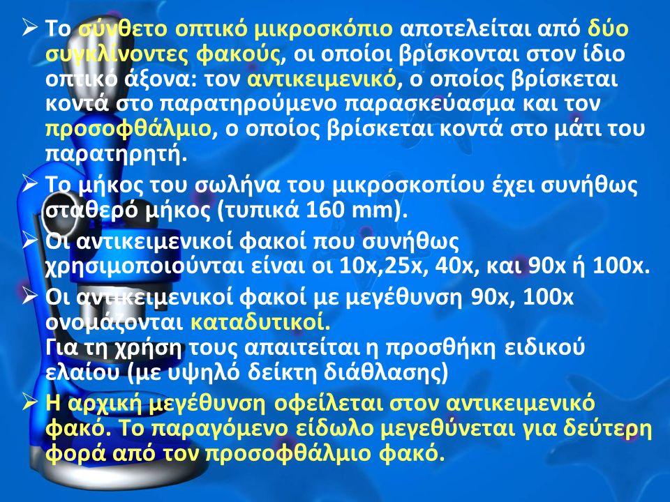 Υλικά Μικροσκόπιο Φυτικά υλικά για παρατήρηση στο μικροσκόπιο (κρεμμύδι, φύλλα κλπ) Αντικειμενοφόροι πλάκες Καλυπτρίδες Λαβίδα Βελόνα Νυστέρι ή μαχαίρι ή ξυραφάκι Νερό Σταγονόμετρο Τρυβλία Petri Διηθητικό χαρτί ή απορροφητικό χαρτί κουζίνας Χρωστικές Lugol Πράσινο του μεθυλίου