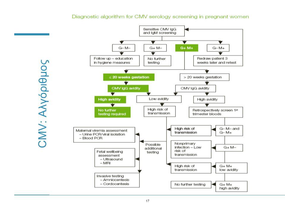 17 CMV: Αλγόριθμος
