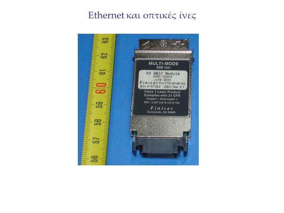Ethernet και οπτικές ίνες