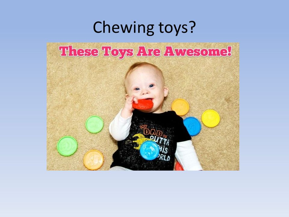 Chewing toys?