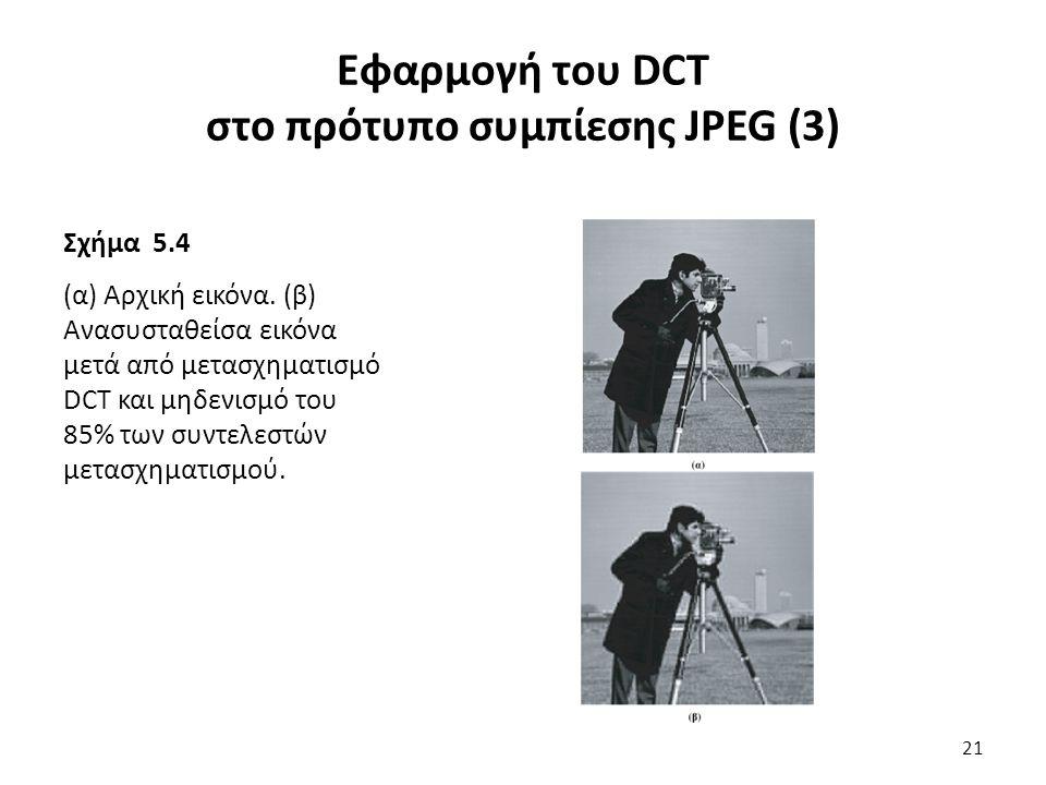 Σχήμα 5.4 (α) Αρχική εικόνα.