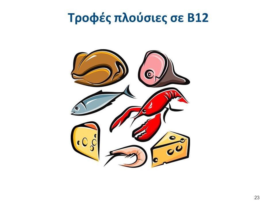 Τροφές πλούσιες σε Β12 23