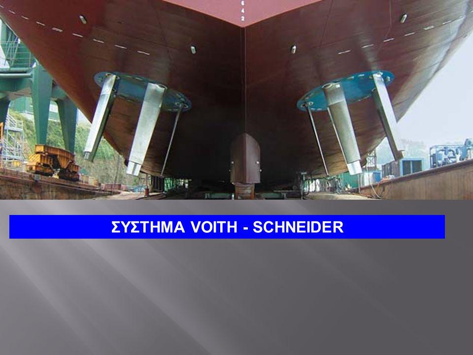 ΣΥΣΤΗΜΑ VOITH - SCHNEIDER