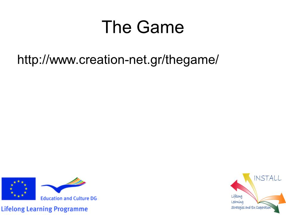 http://www.creation-net.gr/thegame/