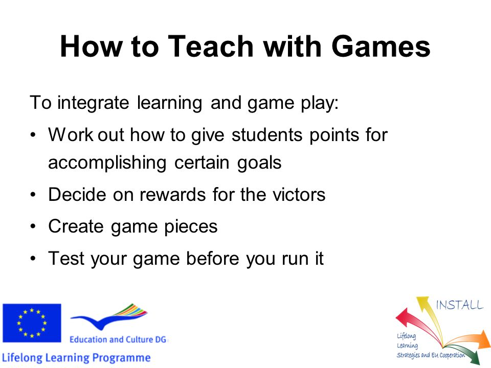 When Is Learning a Game.