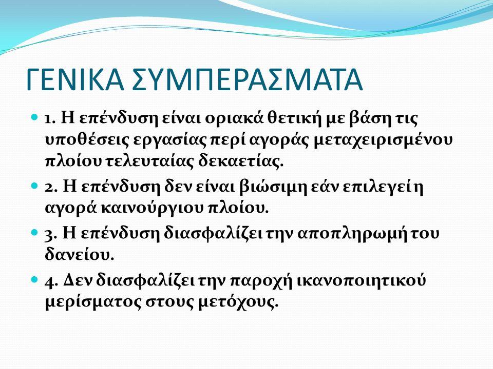 ΓΕΝΙΚΑ ΣΥΜΠΕΡΑΣΜΑΤΑ 1.