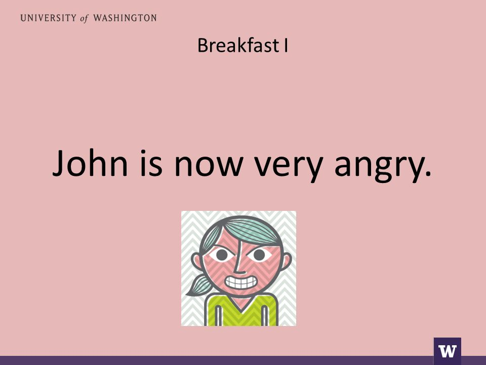 Breakfast I Ο Γιάννης είναι τώρα πολύ θυμωμένος.