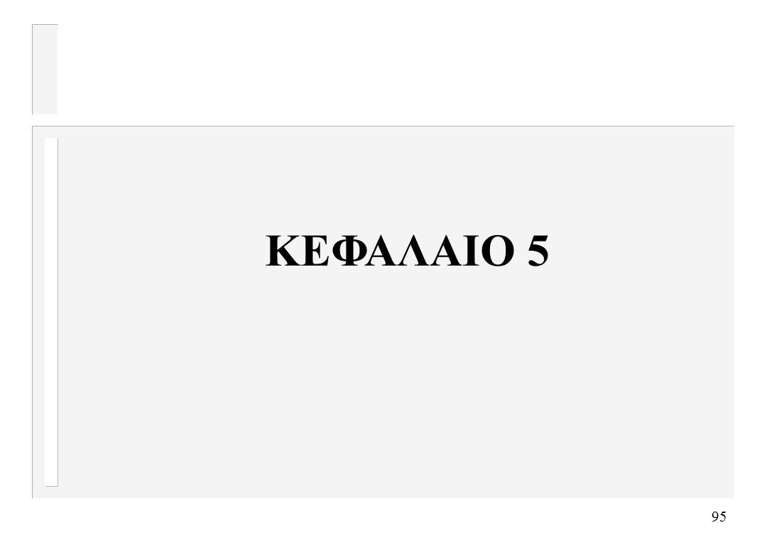 95 ΚΕΦΑΛΑΙΟ 5