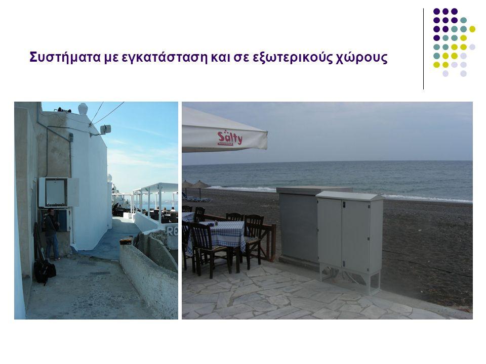 Κεραιοσυστήματα και αναμεταδότες