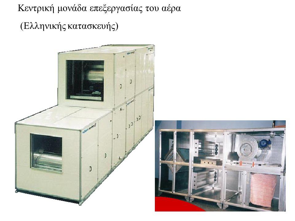3.Κατάταξη των μονάδων κλιματισμού ως προς την έκταση των χώρων που εξυπηρετούν Σε μονάδες δωματίου ( τοίχου ή διαιρούμενες) Σε ημικεντρικές μονάδες Σε κεντρικές μονάδες