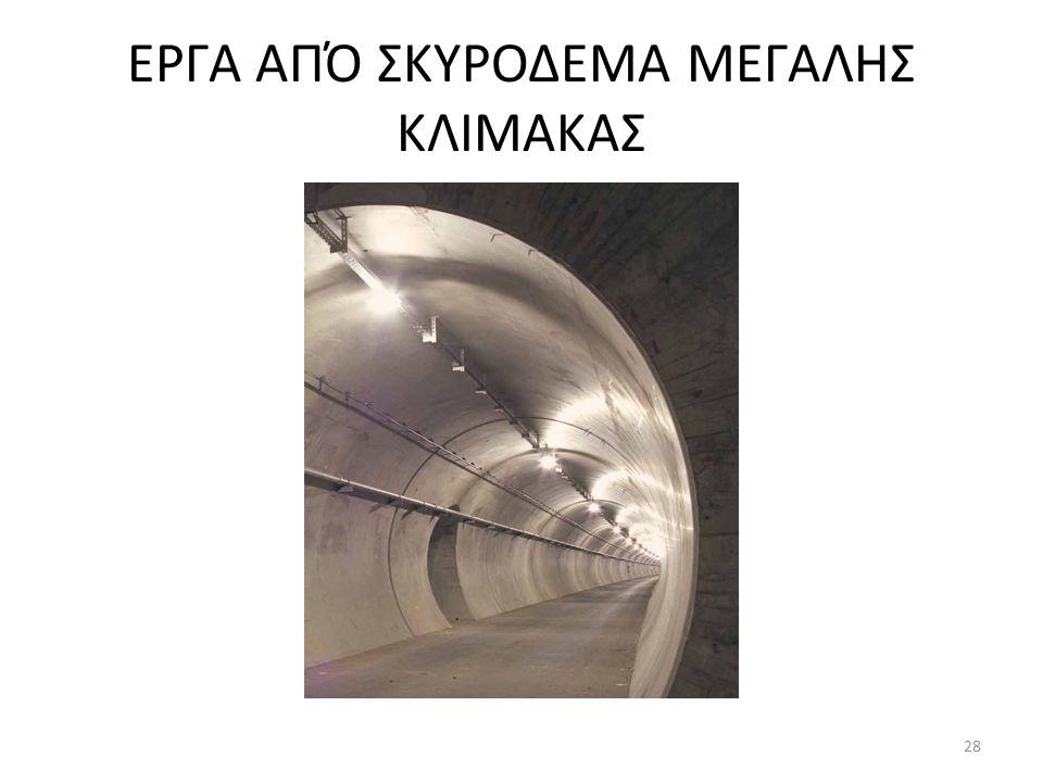 ΕΡΓΑ ΑΠΌ ΣΚΥΡΟΔΕΜΑ ΜΕΓΑΛΗΣ ΚΛΙΜΑΚΑΣ 28