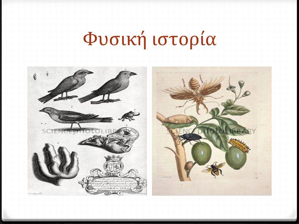Φυσική ιστορία