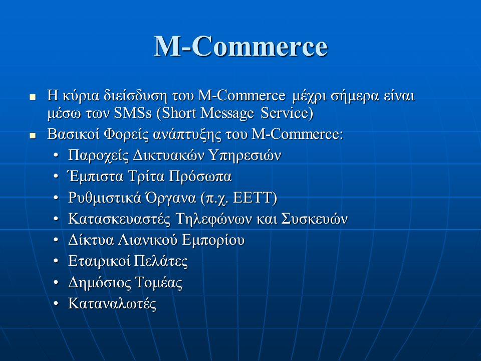 Προσπάθειες για ανάπτυξη του Μ-Commerce Είναι ένα πρωτόκολλο για αυτόματη εύρεση πηγών στα πρωτόκολλα του Internet Είναι ένα πρωτόκολλο για αυτόματη εύρεση πηγών στα πρωτόκολλα του Internet Service Location Protocol είναι ένα προϊόν του Service Location Protocol Working Group (SVRLOC) της ΙΕΤF Service Location Protocol είναι ένα προϊόν του Service Location Protocol Working Group (SVRLOC) της ΙΕΤF Τα χαρακτηριστικά του πρωτοκόλλου μπορούν να αναπτυχθούν σε οποιαδήποτε γλώσσα Τα χαρακτηριστικά του πρωτοκόλλου μπορούν να αναπτυχθούν σε οποιαδήποτε γλώσσα Το Service Location Protocol infrastructure αποτελείται από τρεις τύπους agents ( RFC 2165 version1, 2608 version2) : Το Service Location Protocol infrastructure αποτελείται από τρεις τύπους agents ( RFC 2165 version1, 2608 version2) : User Agent (που βρίσκεται π.χ.