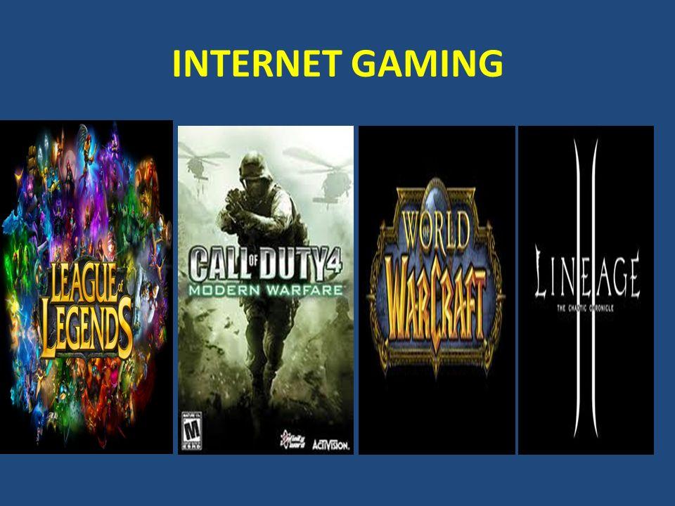 Τι είναι τα διαδικτυακά παιχνίδια;  Τα τελευταία χρόνια, τα παιχνίδια αυτά υποστηρίζονται, από παιχνιδομηχανές και κινητά τηλέφωνα, αποκτώντας ακόμα μεγαλύτερη πρόσβαση στο ευρύ κοινό.