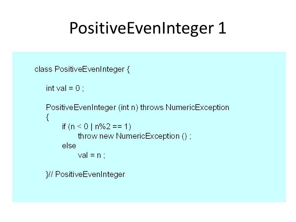 PositiveEvenInteger 1