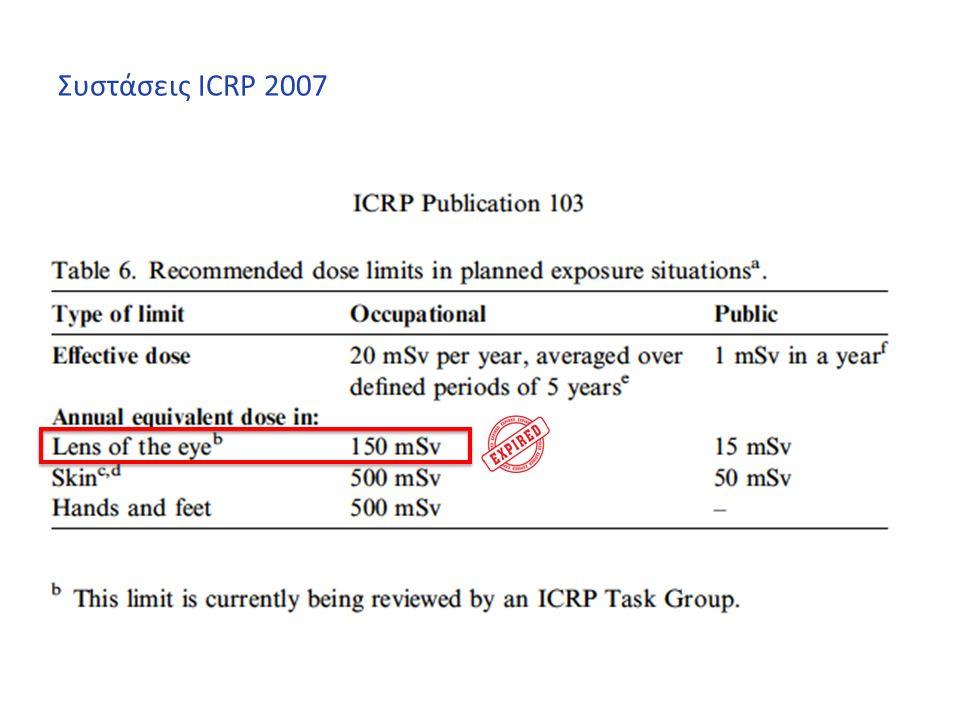 Συστάσεις ICRP 2007