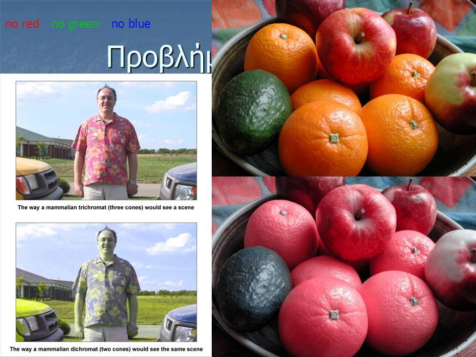 Προβλήματα όρασης no redno greenno blue