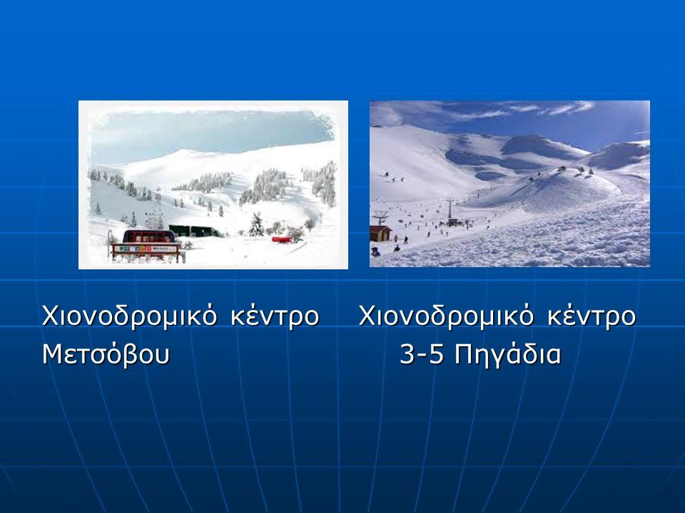 Χιονοδρομικό κέντρο Χιονοδρομικό κέντρο Μετσόβου 3-5 Πηγάδια