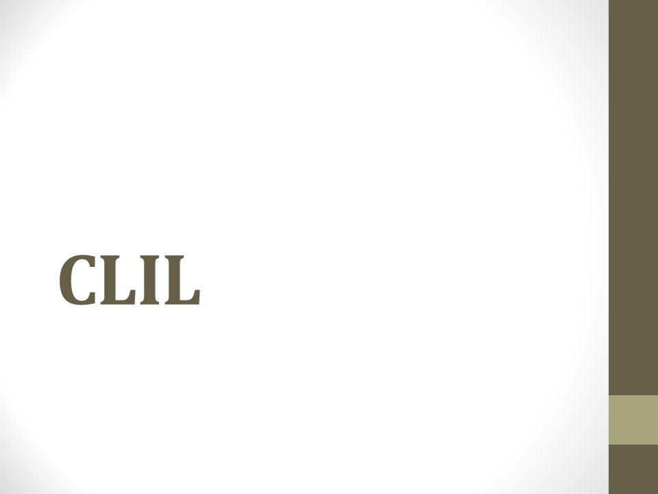 H ΠΡΟΟΔΟΣ ΤΟΥ ΚΛΙΛ Ο όρος Ενσωματωμένη Εκμάθηση Περιεχομένου και Γλώσσας (CLIL) πρωτοχρησιμοποιήθηκε τo 1994, σε συνεργασία με την Ευρωπαϊκή Επιτροπή.
