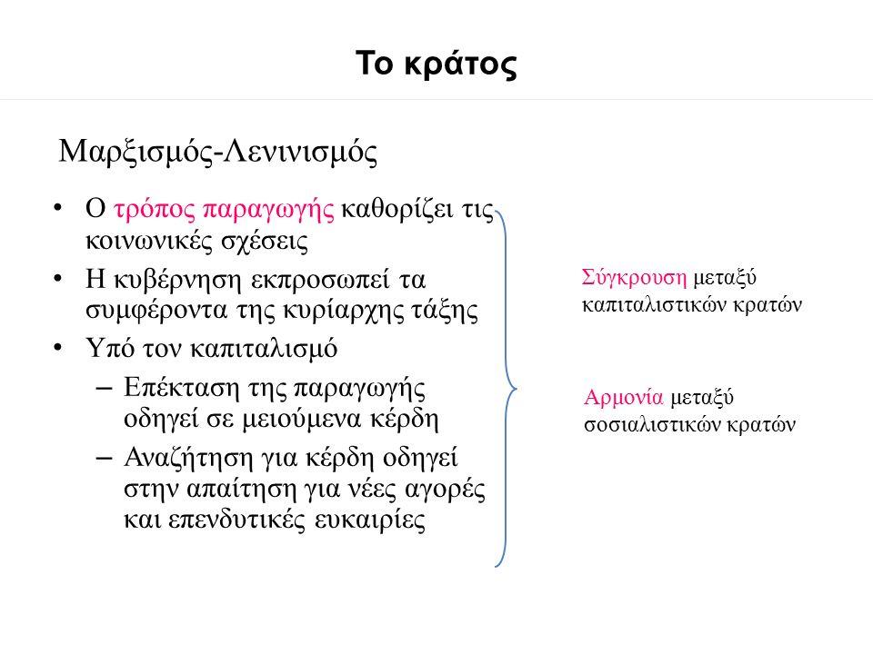 Θουκυδίδης (Διάλογος 5.105) …Το να εξουσιάζεις ότι μπορείς είναι ένας γενικός και αναγκαίος νόμος της φύσης Δεν είναι νόμος που τον φτιάξαμε εμείς...