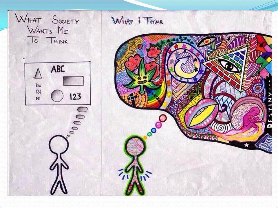 Αξιολόγηση και καλλιέργεια της αποκλίνουσας σκέψης «The Torrance Tests of Creative Thinking», «Thinking Creatively in Action and Movement» Γλωσσικές δοκιμασίες: 1) ασυνήθεις χρήσεις, 2) συνέπειες, 3) τροποποιήσεις και 4) τίτλοι επεισοδίων.
