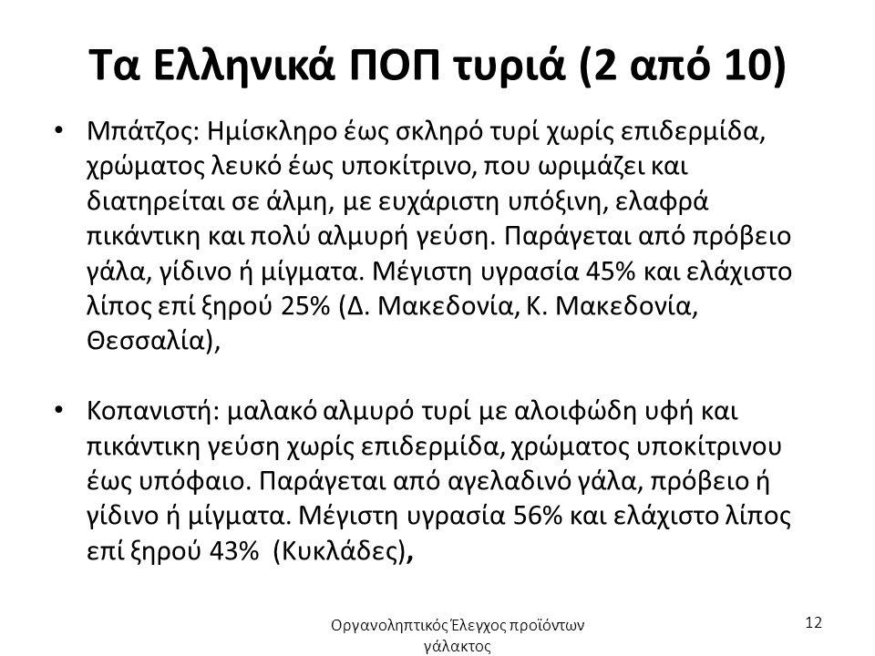Τα Ελληνικά ΠΟΠ τυριά (3 από 10) Φορμαέλλα Αράχωβας: ημίσκληρο υποκίτρινο τυρί, με ευχάριστη γεύση και άρωμα.